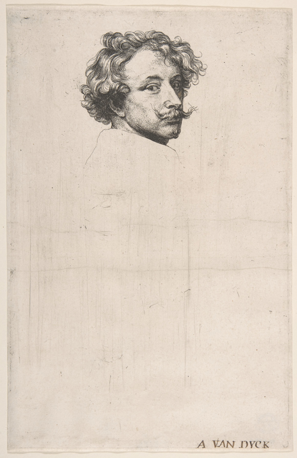 Anthony van Dyck | Self-Portrait from The Iconography | Credit: The Metropolitan Museum of Art (Bequest of Mary Stillman Harkness, 1950), licensed under CC0 1.0 Universal