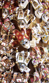 lots of masks.  in Venice.